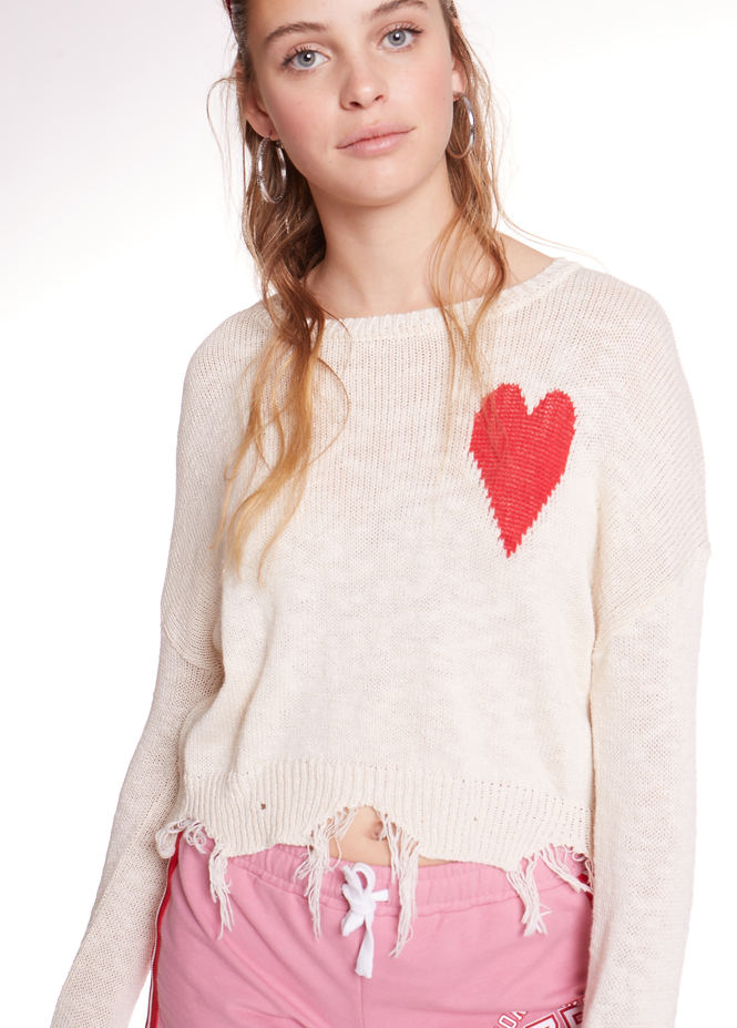 SWEATER RED HEART 1-3